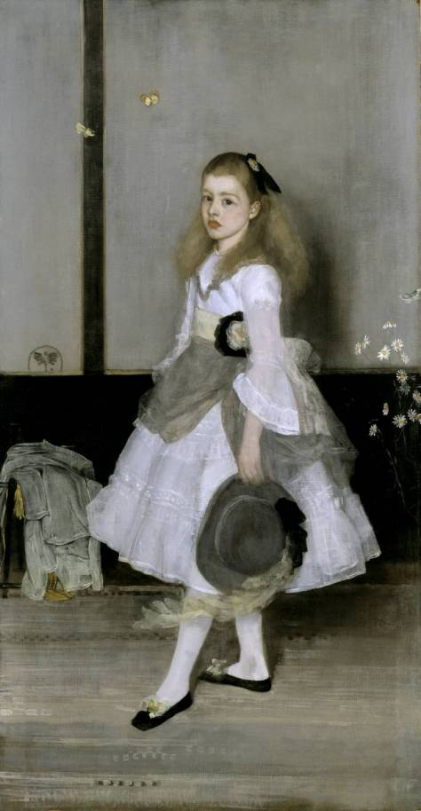 Harmony in Grey and Green: Miss Cicely Alexander 1872-4 James Abbott McNeill Whistler 1834-1903 Bequeathed by W.C. Alexander 1932 http://www.tate.org.uk/art/work/N04622